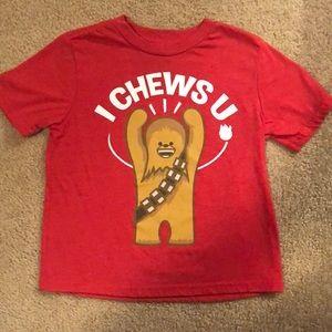 NWOT Chewbacca tee